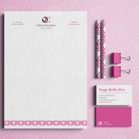 Opera Columbus Stationery