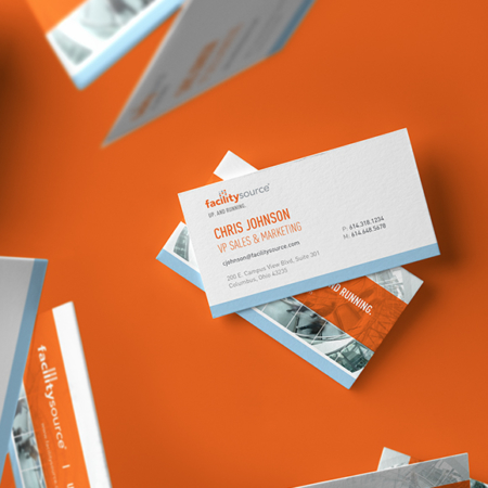 FacilitySource Business Cards